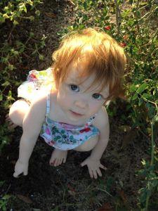 Mira Jaya Rose-Hutner, 16 months old