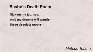 Basho's death poem